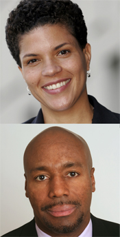 Michelle Alexander and Paul Butler